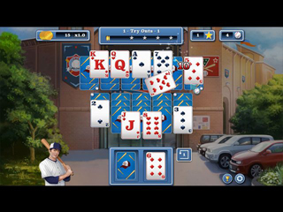 Home Run Solitaire - Screen 2