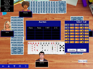 Hoyle Official Card Games - Screen 1