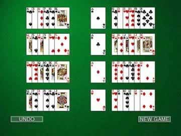 Hoyle Solitaire - Screen 1
