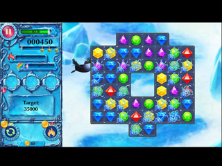 Ice Crystal Adventure - Screen 1