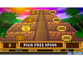 IGT Slots Aztec Temple - Screen 2