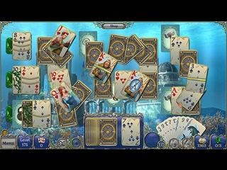 Jewel Match Atlantis Solitaire Collector's Edition - Screen 1