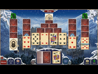 Jewel Match Solitaire Winterscapes - Screen 1