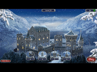 Jewel Match Solitaire Winterscapes - Screen 2