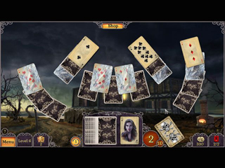 Jewel Match Twilight Solitaire - Screen 1