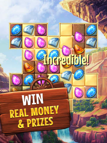 Jewel Quest for Cash - Screen 1