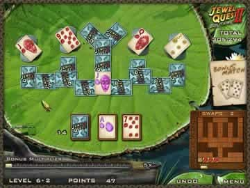 Jewel Quest Solitaire II - Screen 2