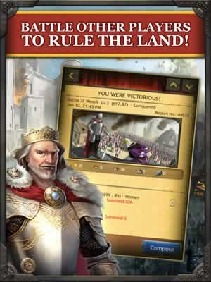Kingdom of Camelot: Battle for the North - Screen 1