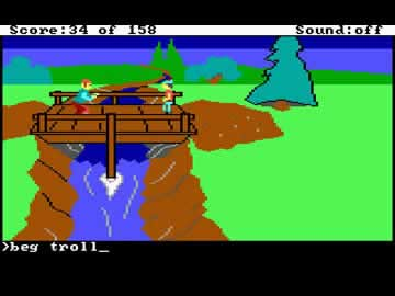King's Quest 1 - Screen 2