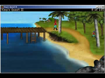 King's Quest 2: Romancing the Throne - Screen 1