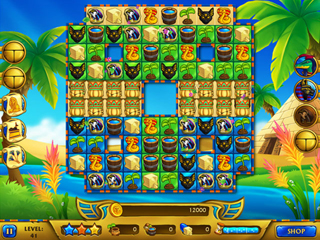 Legends of Egypt - Pharaohs Garden - Screen 1