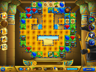 Legends of Egypt - Pharaohs Garden - Screen 2