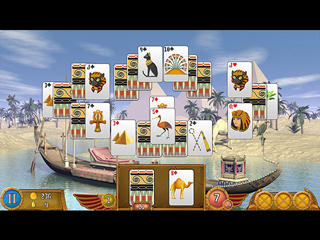 Luxor Solitaire - Screen 1