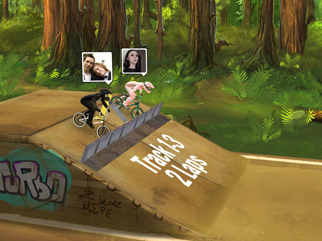 Mad Skills BMX 2 - Screen 1