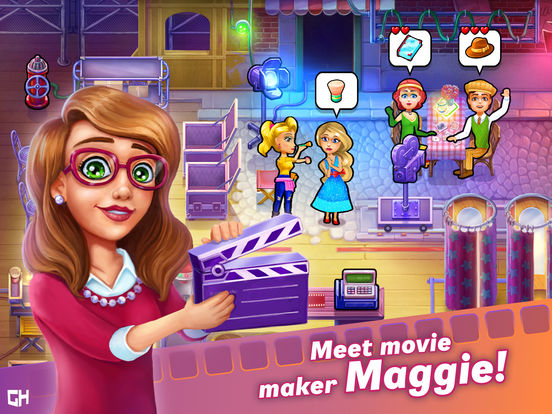 Maggie's Movies - Camera, Action! - Screen 1
