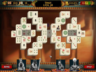 Mahjong: Ancient Pyramids - Screen 2