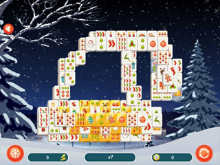 Mahjong Christmas 2 - Screen 2