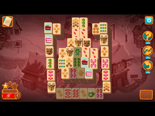 Mahjong Fest: Winter Wonderland - Screen 1