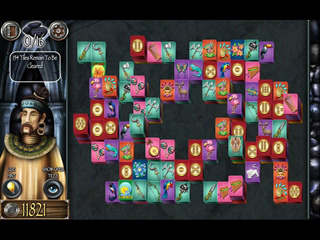 Mahjong Masters - Temple of the Ten Gods - Screen 1