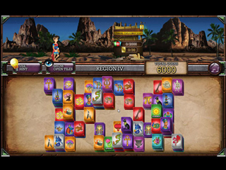 Mahjong Masters - The Amazing Architect - Screen 1
