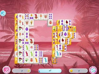 Mahjong Valentine's Day - Screen 2
