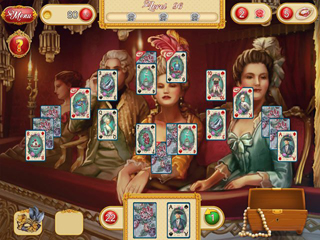 Marie Antoinette's Solitaire - Screen 2