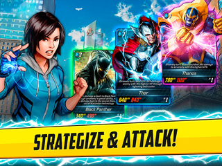 Marvel Battle Lines - Screen 1