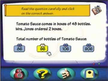 Math Blaster Ages 7-9 - Screen 2