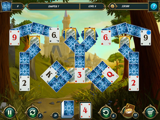 Mystery Solitaire - Grimms Tales 2 - Screen 1