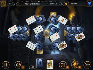 Mystery Solitaire - The Black Raven - Screen 2