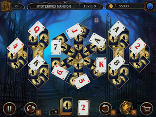 Mystery Solitaire: Arkham's Spirits - Screen 1