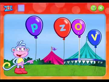 Nick Jr. Bingo - Screen 2