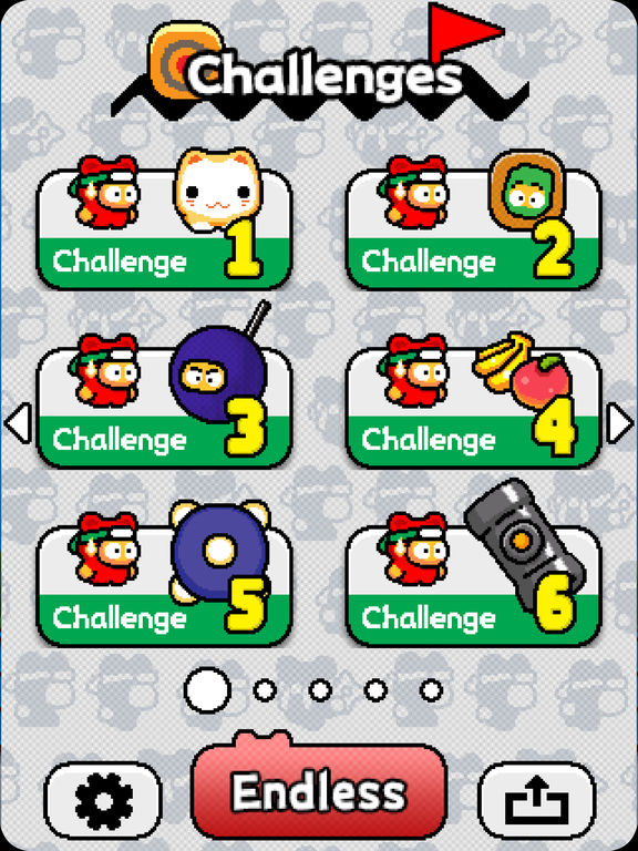 Ninja Spinki Challenges!! - Screen 1