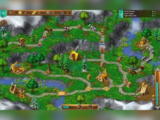 Northland Heroes The Lost Druid - Screen 1