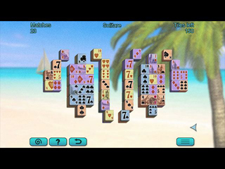 Ocean Mahjong - Screen 1
