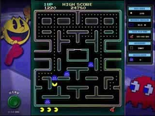 Pac-Man - Screen 1