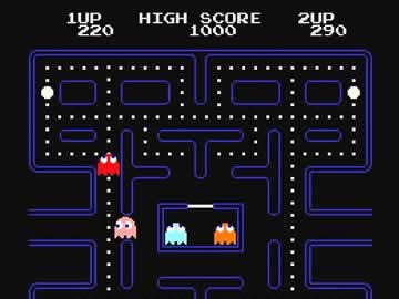 Pac Man - Screen 1