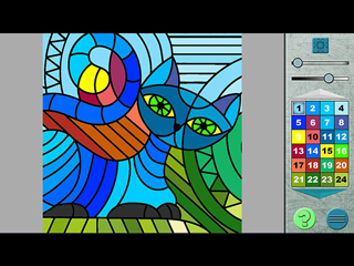 Paint by Numbers 2 - Screen 1