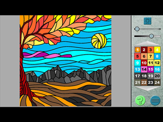 Paint by Numbers 2 - Screen 2