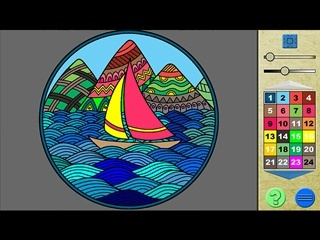 Paint by Numbers 3 - Screen 2
