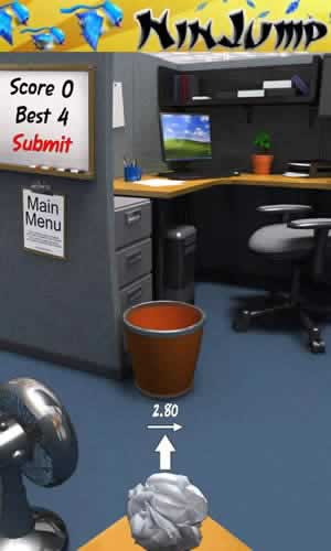 Paper Toss - Screen 1