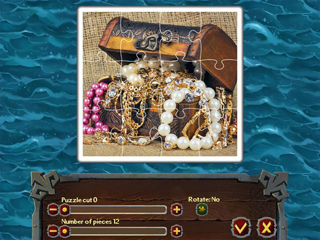 Pirate Jigsaw 2 - Screen 1