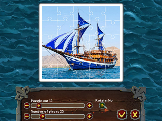 Pirate Jigsaw - Screen 2