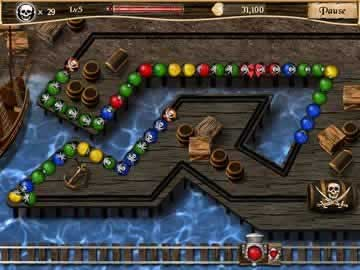 Pirate Poppers - Screen 1