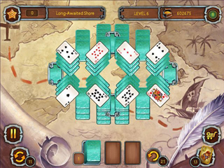 Pirate's Solitaire 3 - Screen 1