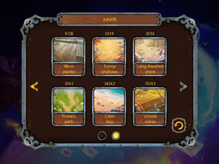 Pirate's Solitaire 3 - Screen 2