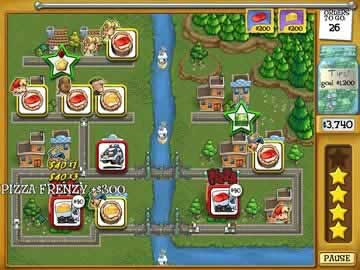 Pizza Frenzy - Screen 1
