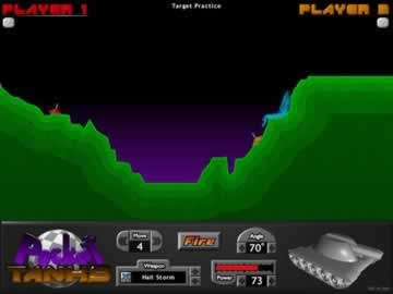 Pocket Tanks - Screen 1