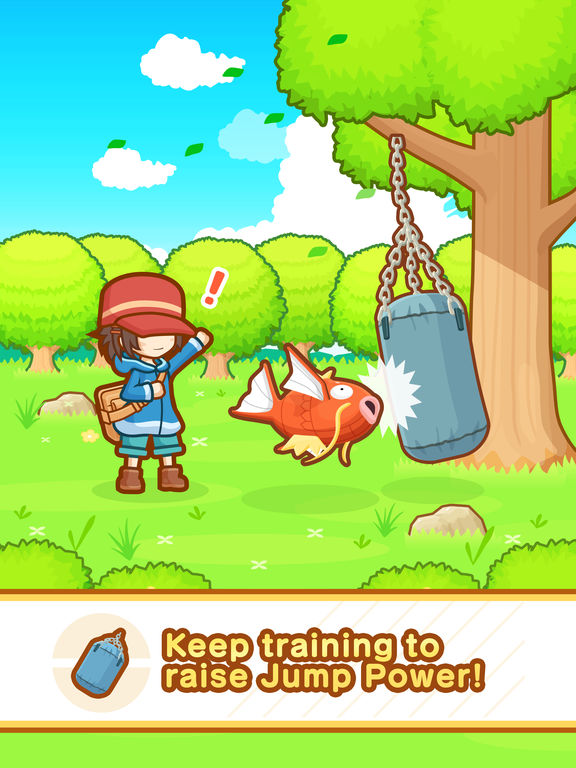 Magikarp Jump - Screen 1