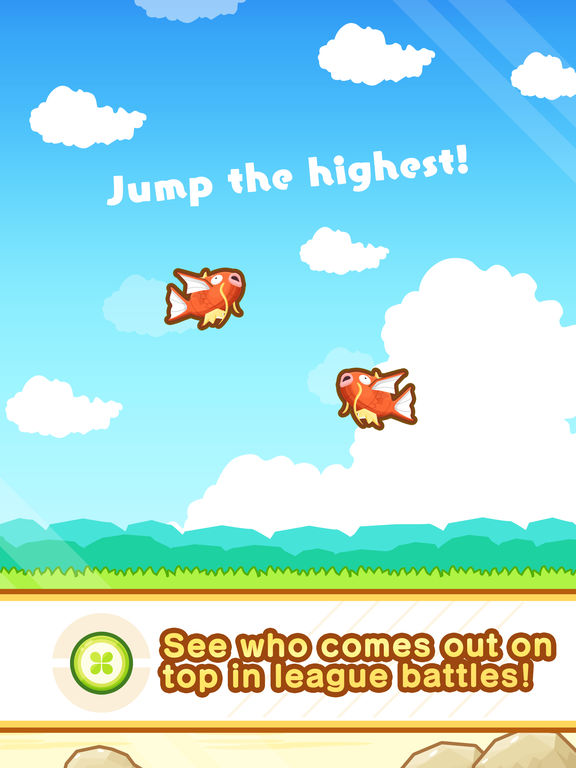Magikarp Jump - Screen 2
